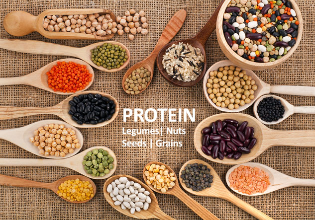 eating more protein from plant sources